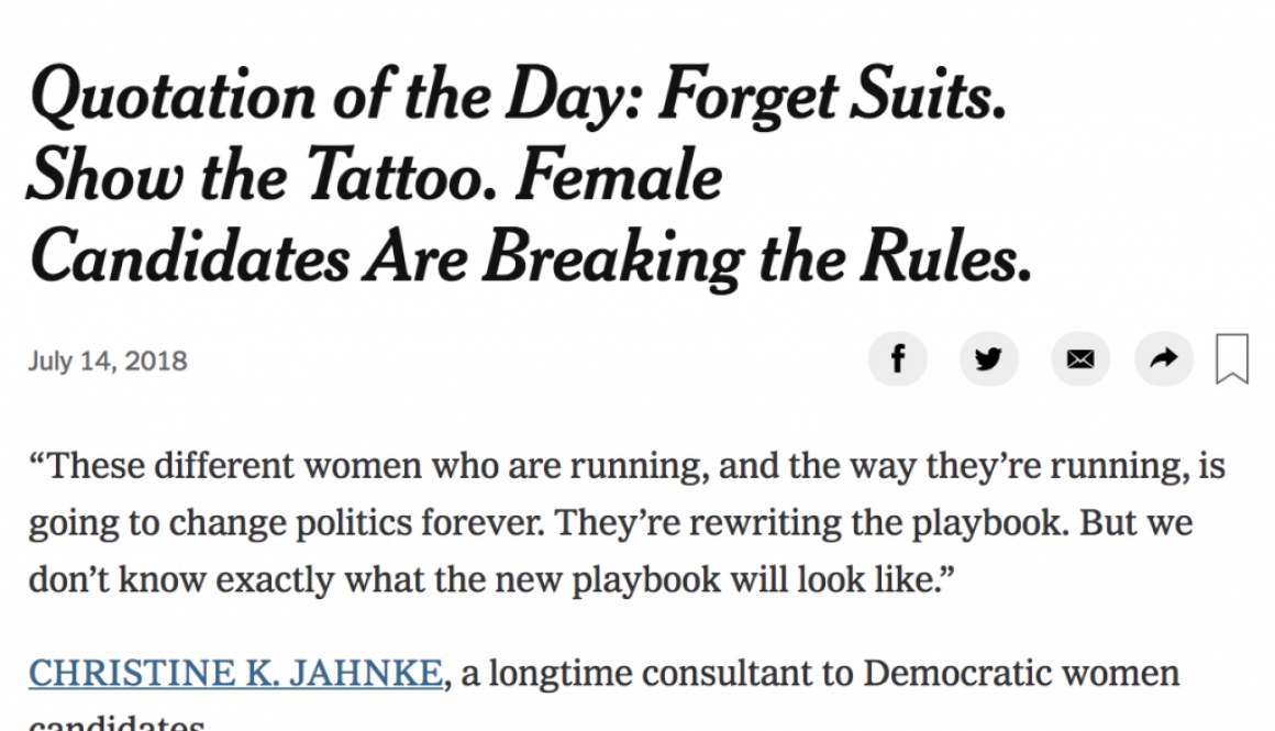 NYT quote of the day